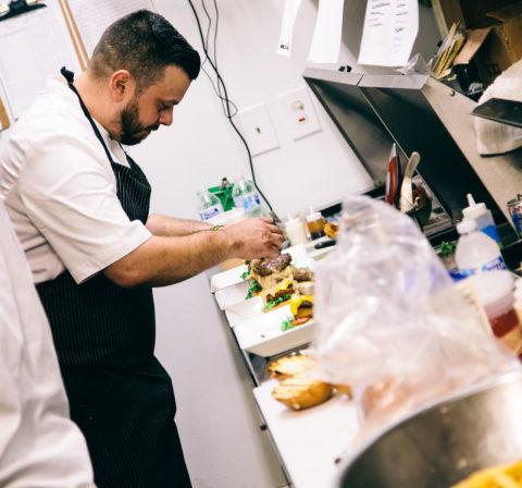 Chef Carlos @ Work